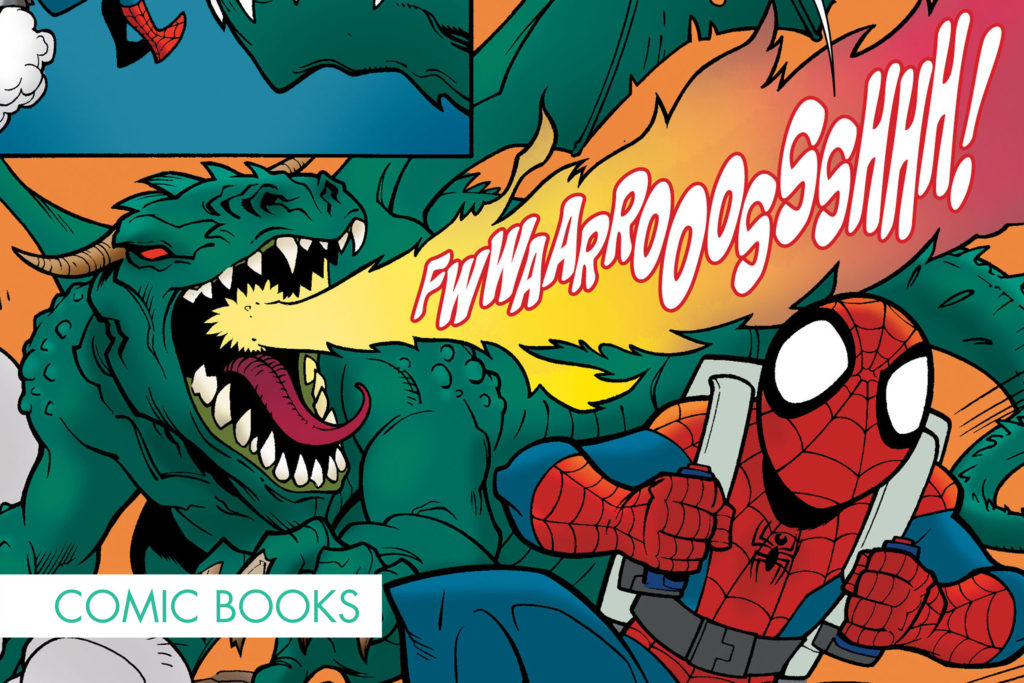 Marvel Comics Lettering